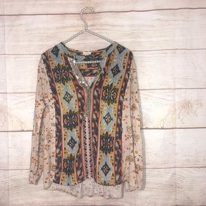 Anthropologie Tiny size medium cute blouse